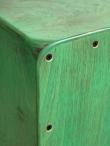 Cajon Flamenco Artigianale Professionale modello Okan Shade Colore Verde