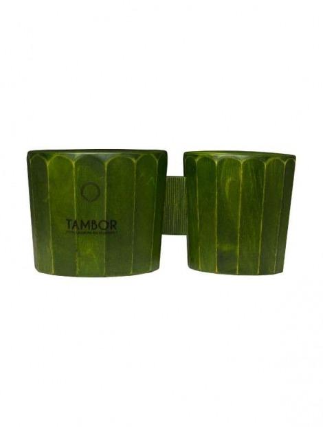Cajon Bongò Artigianale Professionale modello Verde