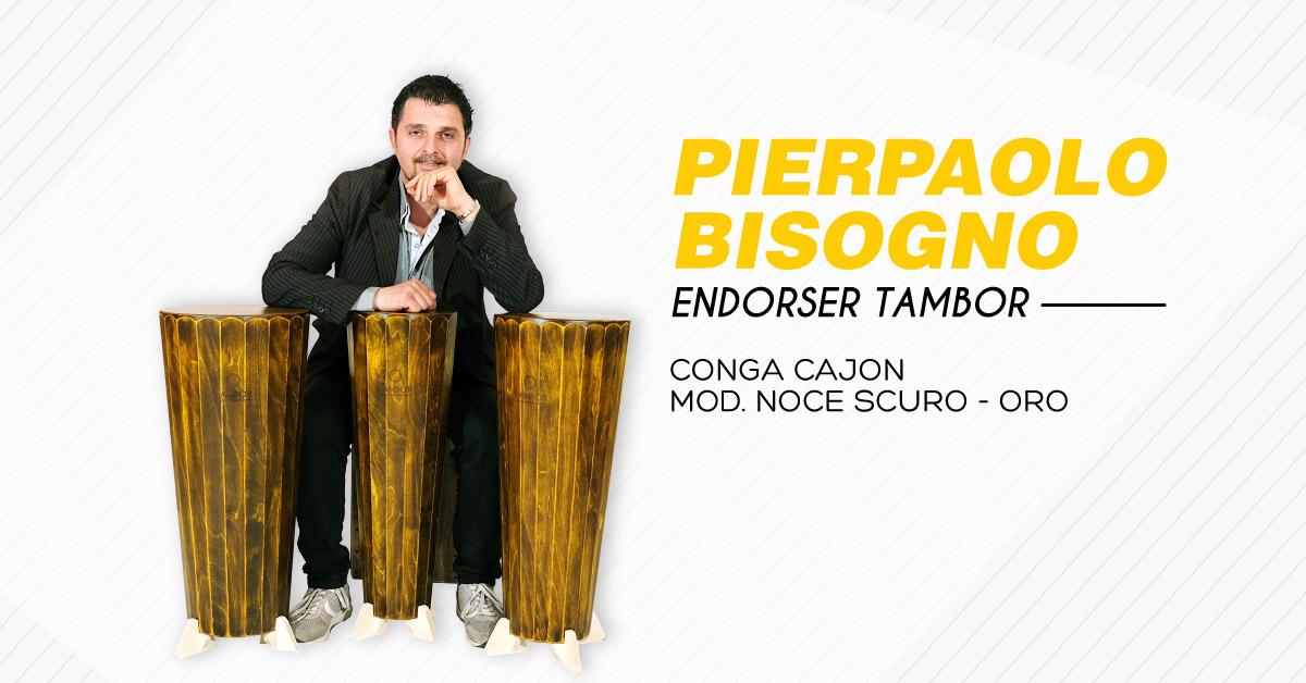 Pierpaolo Bisogno Endorser Tambor Percussioni Artigianali